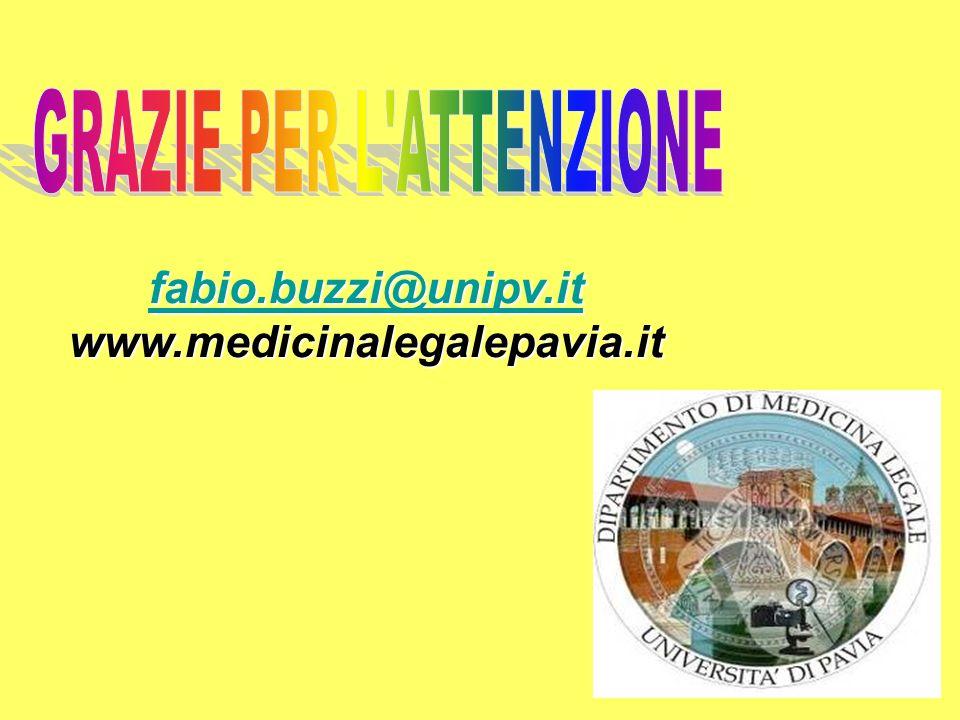 fabio.buzzi@unipv.it www.medicinalegalepavia.it