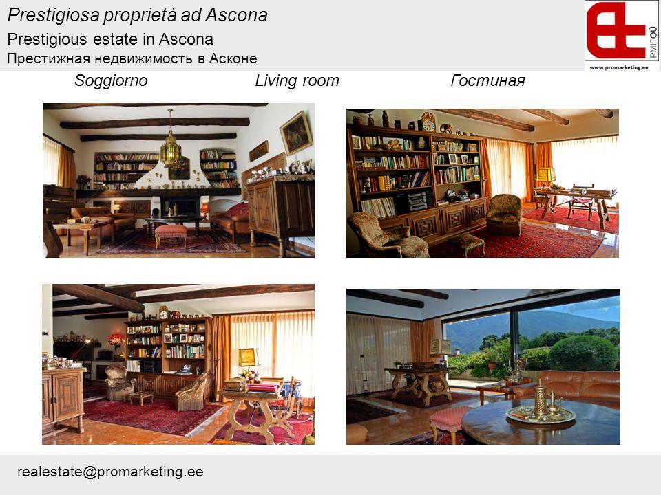 Prestigiosa proprietà ad Ascona Soggiorno Living room Гостиная Prestigious estate in Ascona Престижная недвижимость в Асконе realestate@promarketing.ee