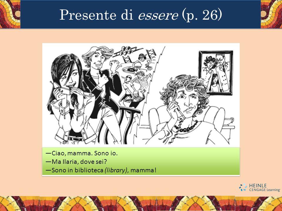 Presente di essere (p. 26)