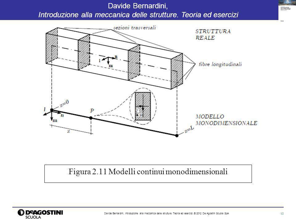 12 Davide Bernardini, Introduzione alla meccanica delle strutture. Teoria ed esercizi Davide Bernardini, Introduzione alla meccanica delle strutture.