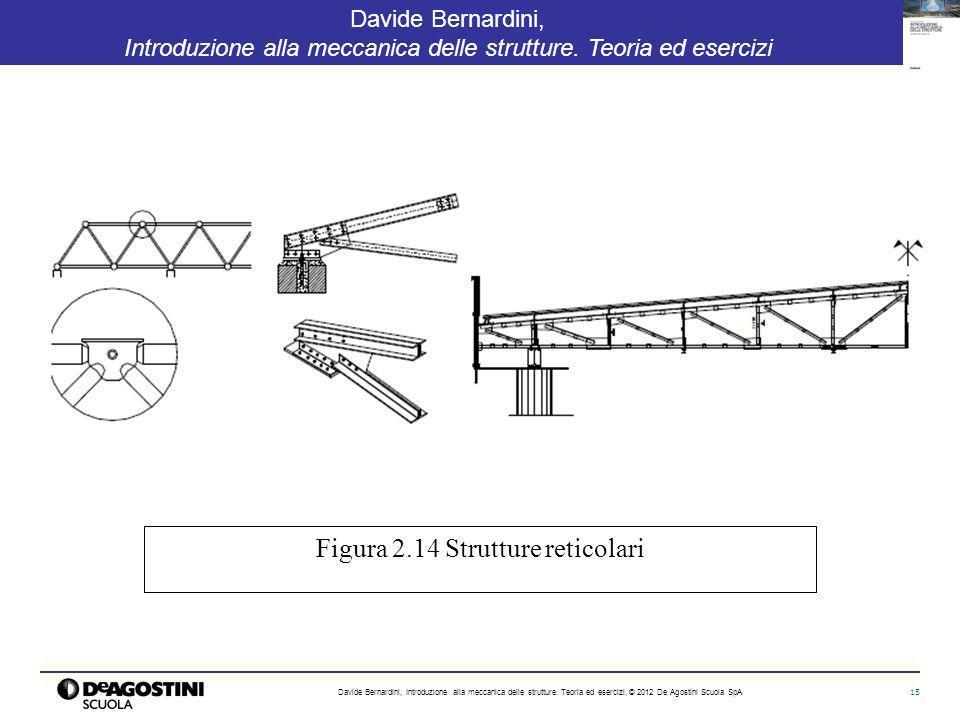 15 Davide Bernardini, Introduzione alla meccanica delle strutture. Teoria ed esercizi Davide Bernardini, Introduzione alla meccanica delle strutture.