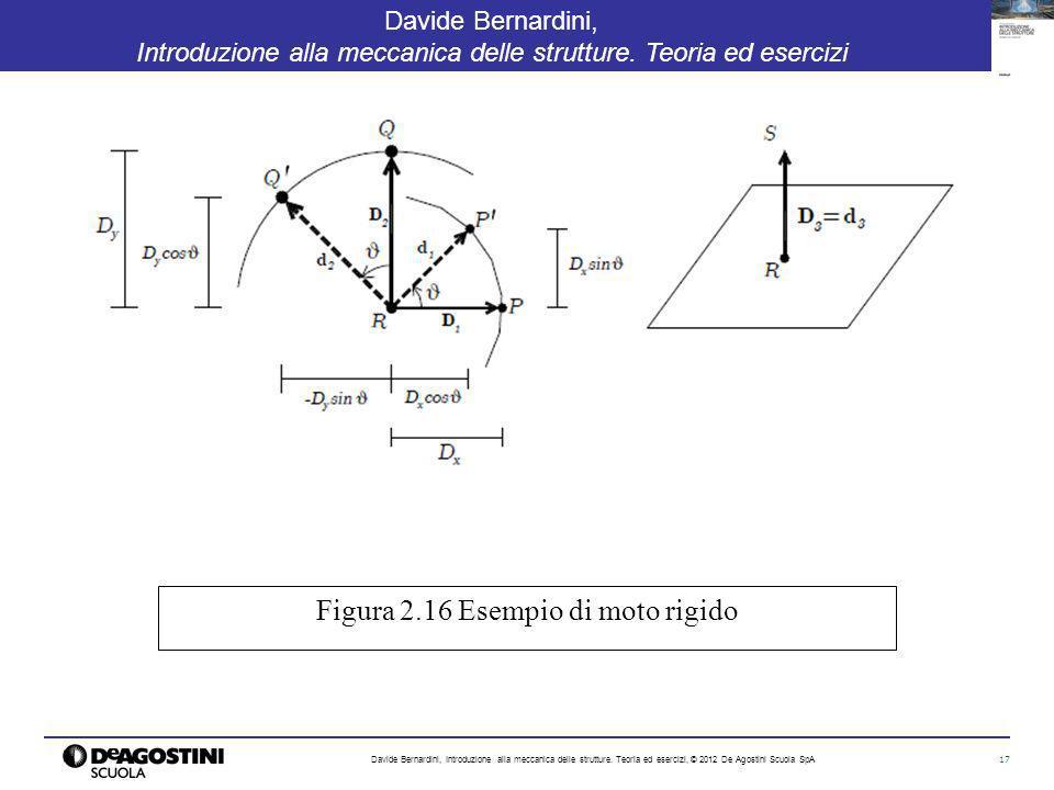 17 Davide Bernardini, Introduzione alla meccanica delle strutture. Teoria ed esercizi Davide Bernardini, Introduzione alla meccanica delle strutture.