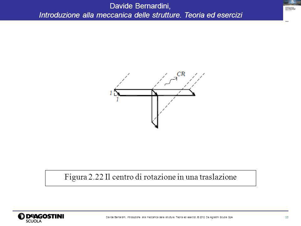 23 Davide Bernardini, Introduzione alla meccanica delle strutture. Teoria ed esercizi Davide Bernardini, Introduzione alla meccanica delle strutture.