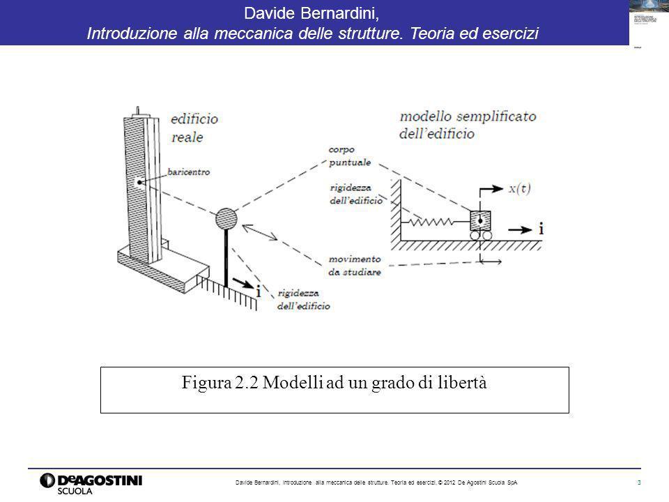 3 Davide Bernardini, Introduzione alla meccanica delle strutture. Teoria ed esercizi Davide Bernardini, Introduzione alla meccanica delle strutture. T