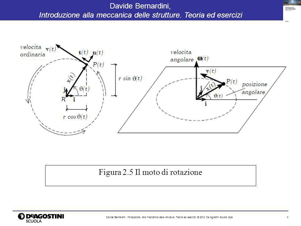 6 Davide Bernardini, Introduzione alla meccanica delle strutture. Teoria ed esercizi Davide Bernardini, Introduzione alla meccanica delle strutture. T