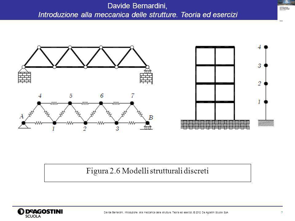 7 Davide Bernardini, Introduzione alla meccanica delle strutture. Teoria ed esercizi Davide Bernardini, Introduzione alla meccanica delle strutture. T