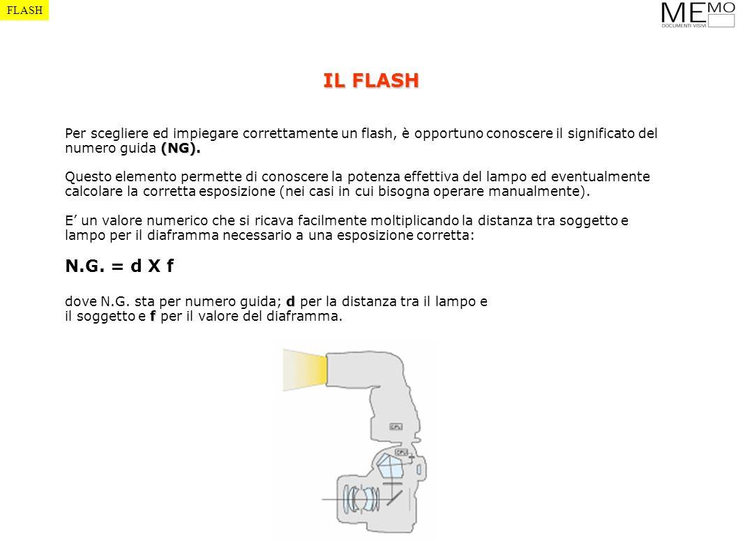 (NG). Per scegliere ed impiegare correttamente un flash, è opportuno conoscere il significato del numero guida (NG). Questo elemento permette di conos