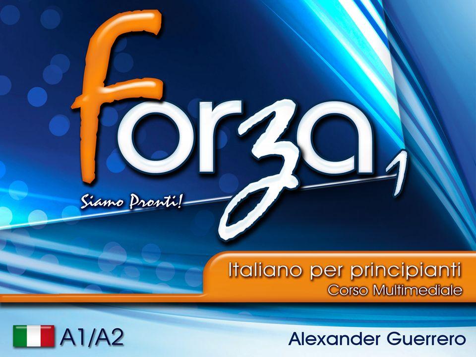 Libro FORZA1 Forza 1 è un libro per gli amanti della lingua Italiana, livello A1 e A2, per principianti e persone che vogliono praticare lItaliano.