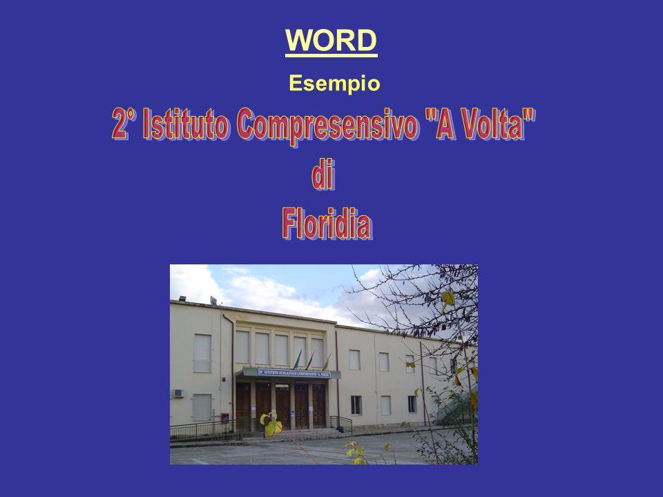 WORD Esempio
