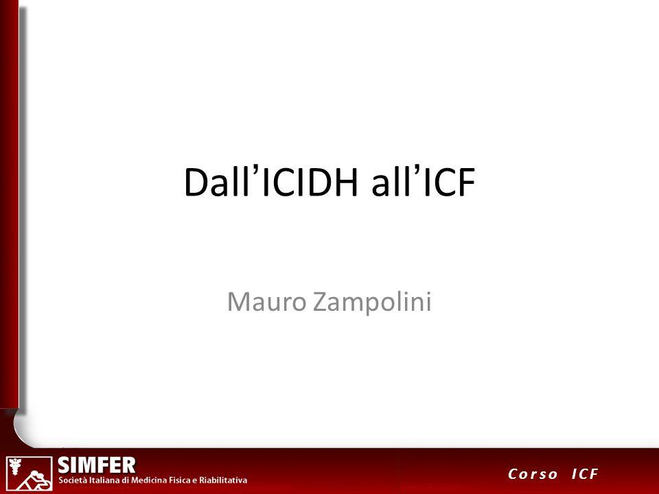 32 Corso ICF Sviluppo deglii ICF Core Sets s110 s120 s130 s140 s210 s230 … b110 b114 b117 b122 b126 b140 b144 b147...