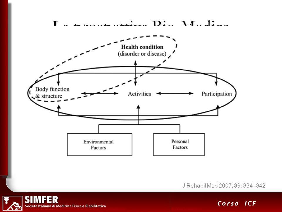 10 Corso ICF La prospettiva Bio-Medica J Rehabil Med 2007; 39: 334–342