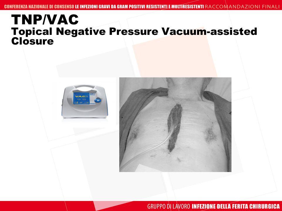 TNP/VAC Topical Negative Pressure Vacuum-assisted Closure
