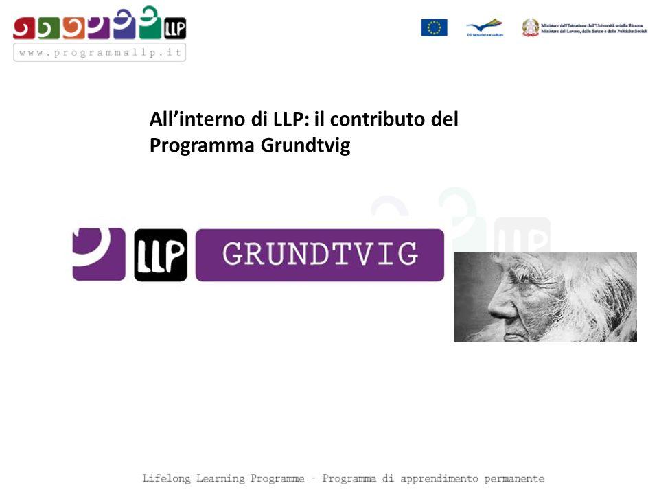 Allinterno di LLP: il contributo del Programma Grundtvig