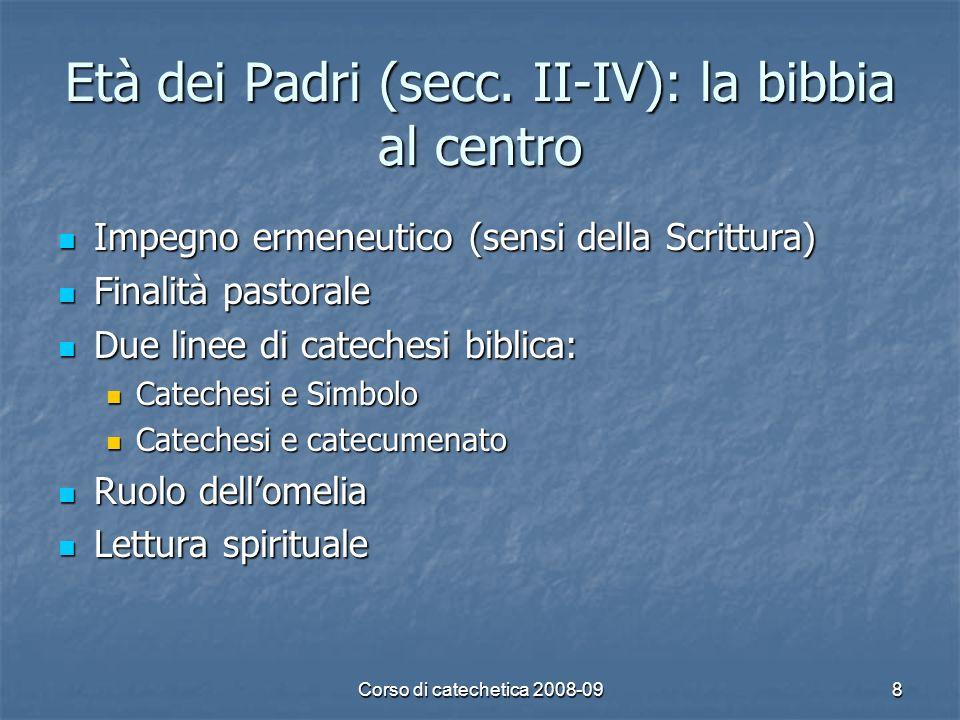 Corso di catechetica 2008-099 Medioevo (sec.