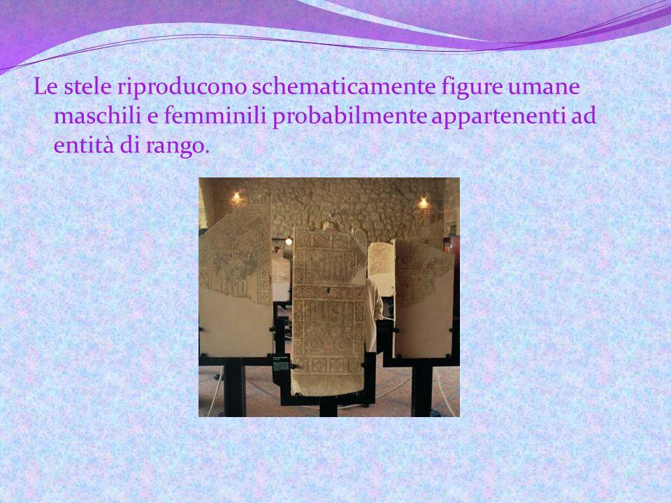 Le stele daune Le stele, scoperte intorno agli anni 60 da Silvio Ferri, sono lastre di pietra calcarea di forma rettangolare realizzate dai Dauni tra