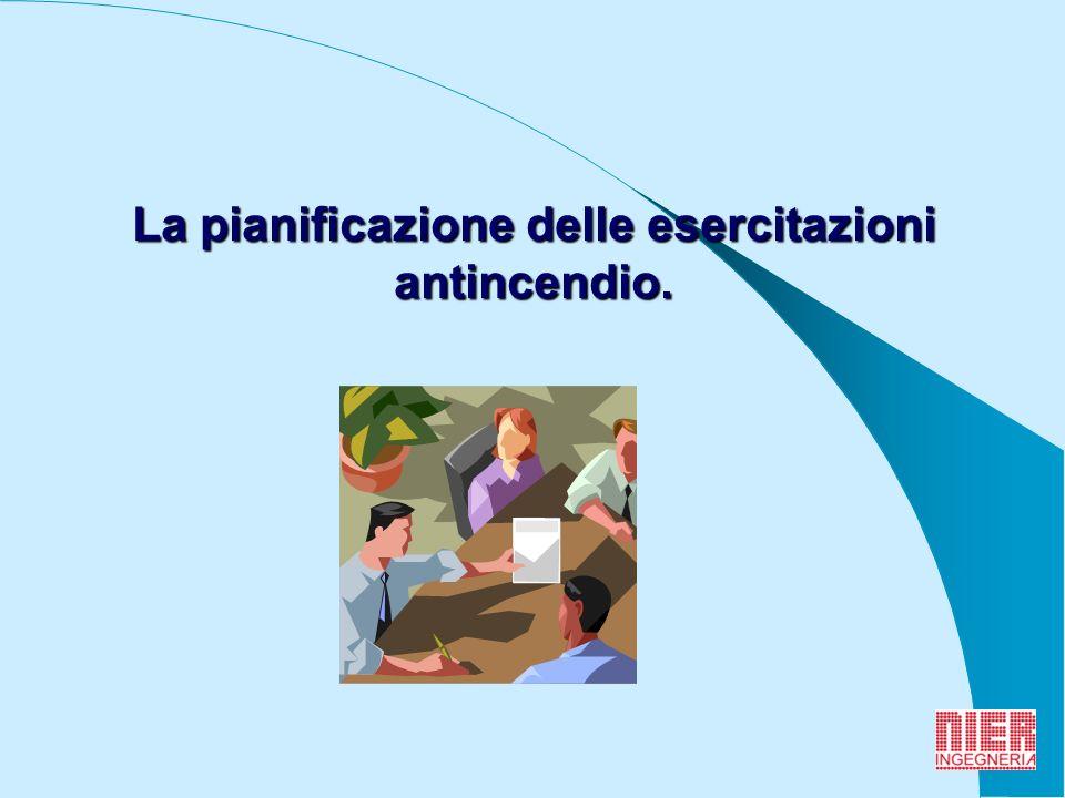 8 fase preliminare con incontro info-formativo; simulazione dellevento incidentale e gestione dellemergenza; riunione finale e stesura del verbale.
