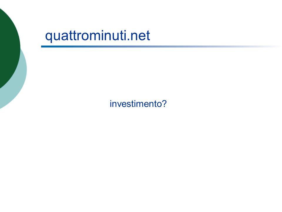 quattrominuti.net investimento