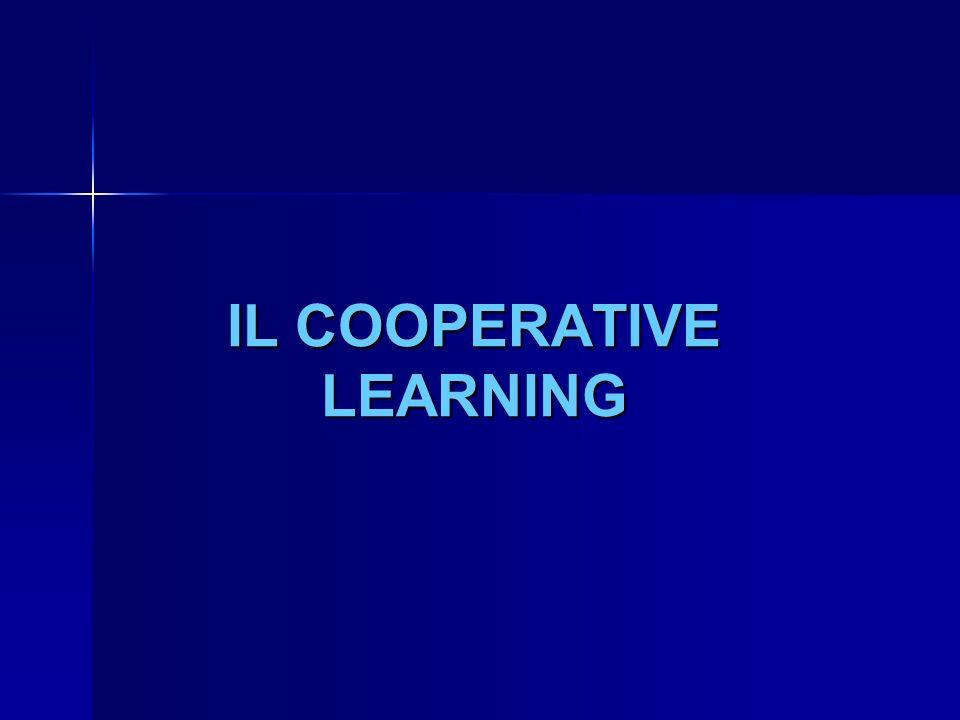 DIFFERENZA COOPERATIVE LEARNING E GRUPPI TRADIZIONALI
