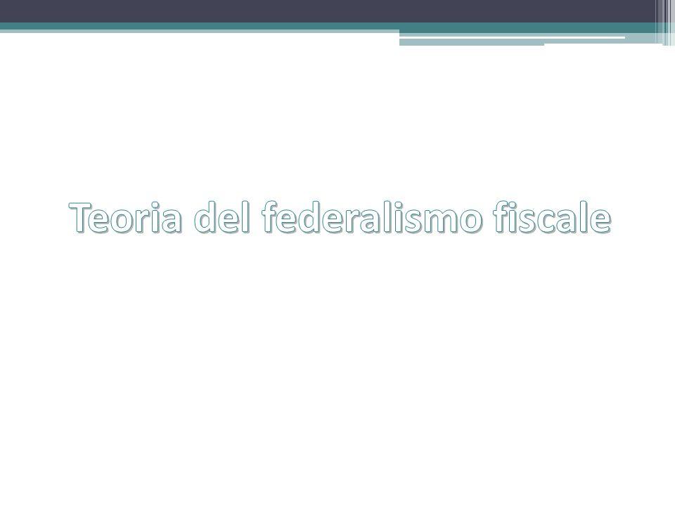 Principi L.42/2009 - Federalismo Decentralizzare entrate tributarie ed eliminare i trasferimenti Fondi di perequazione Benchmark di spesa costi standard Armonizzare sistemi contabili