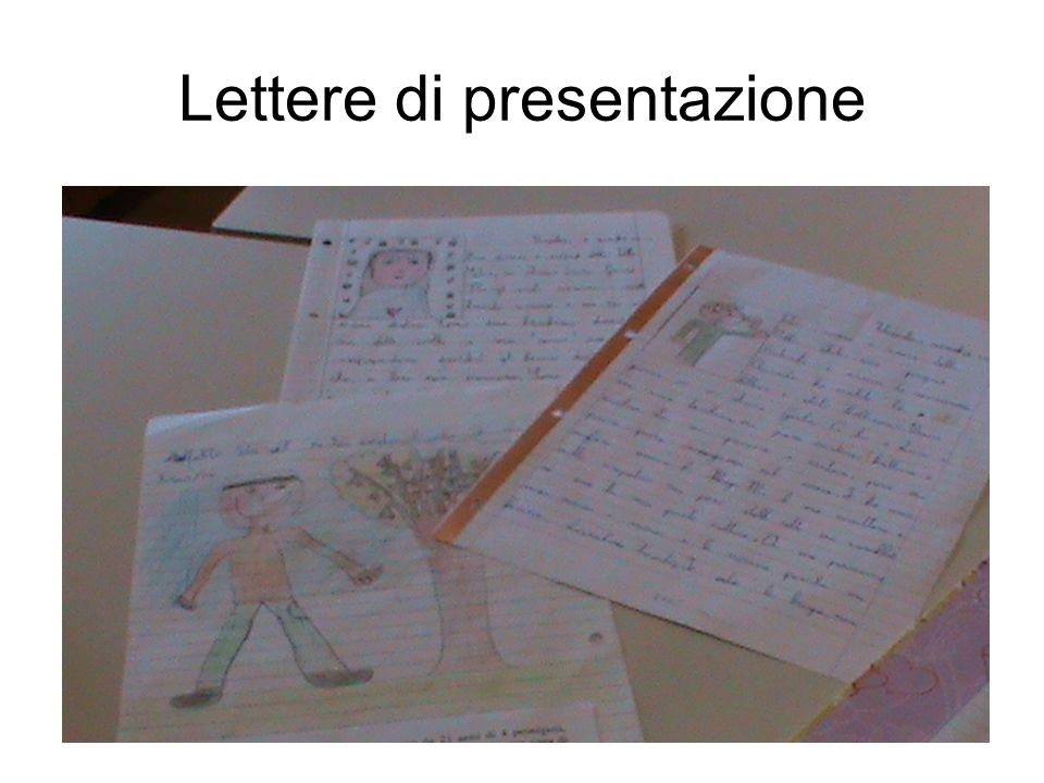 Lettere di presentazione