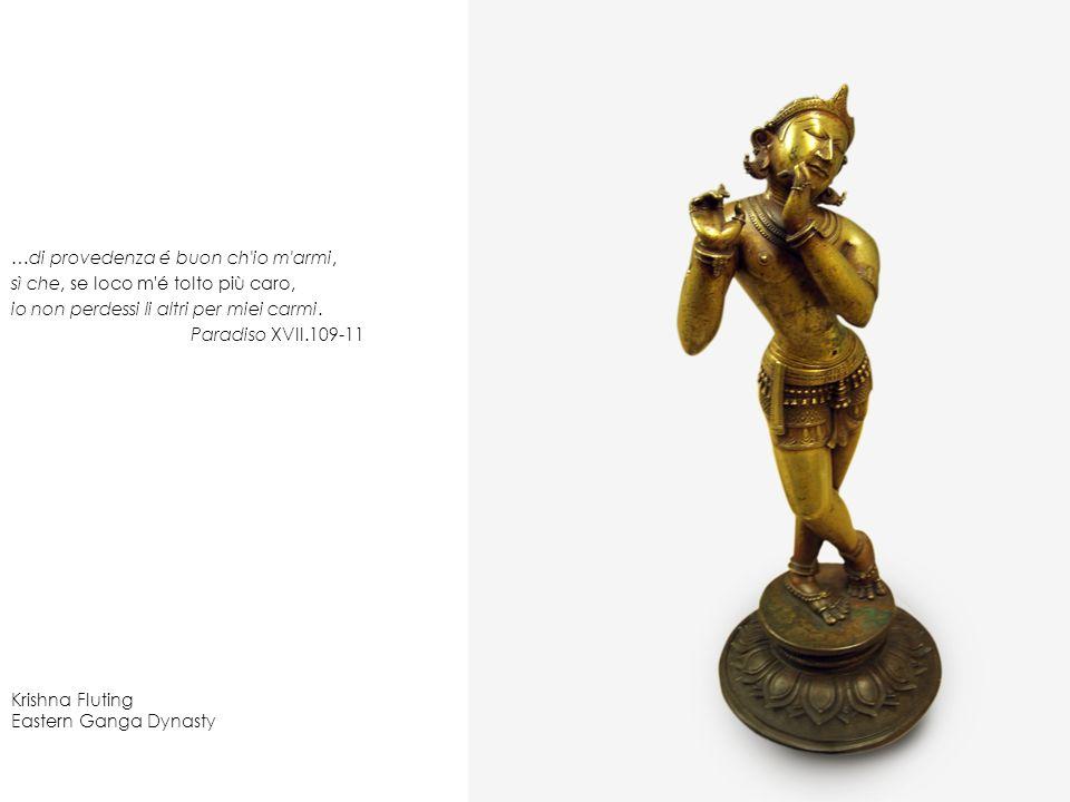 Krishna Fluting Eastern Ganga Dynasty …di provedenza é buon ch'io m'armi, sì che, se loco m'é tolto più caro, io non perdessi li altri per miei carmi.