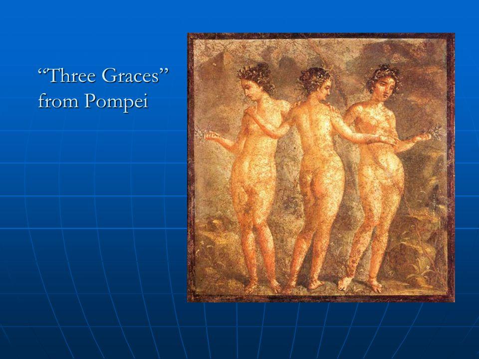 Three Graces from PompeiThree Graces from Pompei