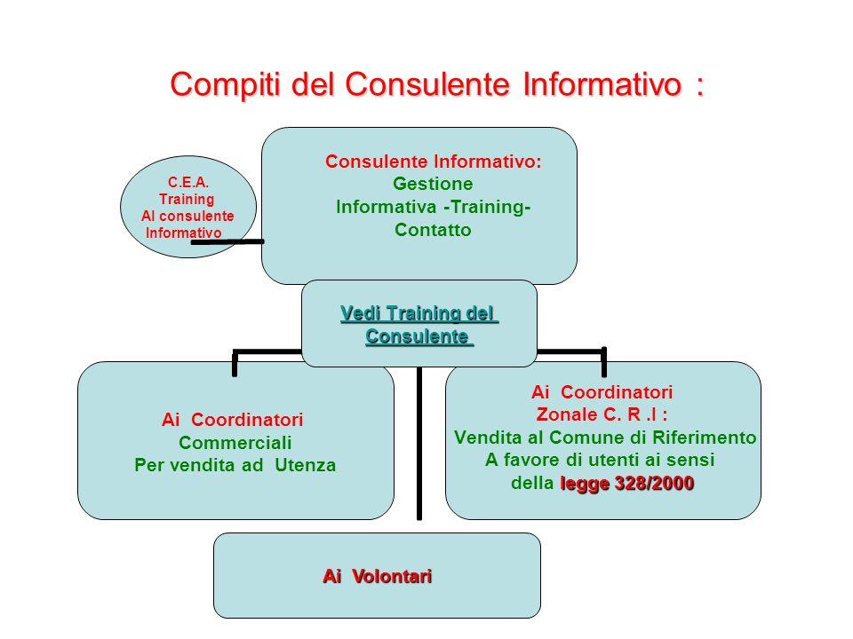Compiti del Consulente Informativo : C.E.A.
