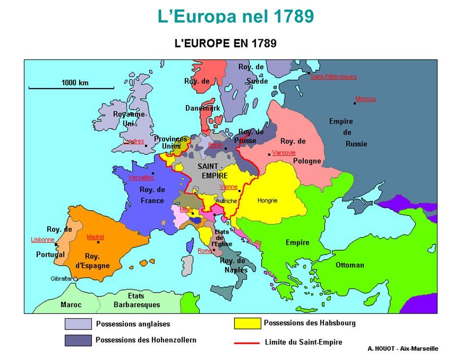 LEuropa nel 1789