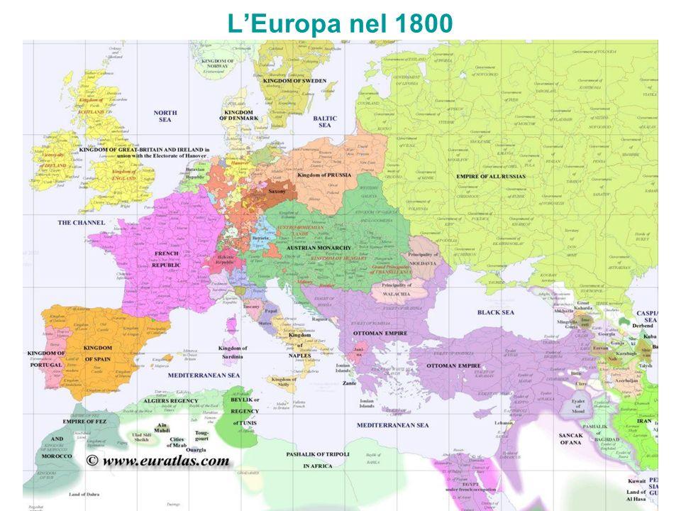 LEuropa nel 1800