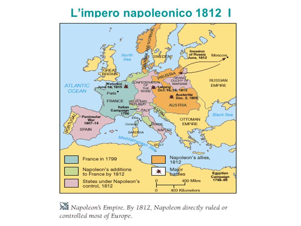 Limpero napoleonico 1812 I