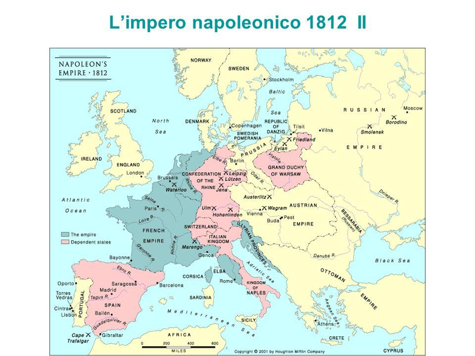 Limpero napoleonico 1812 II