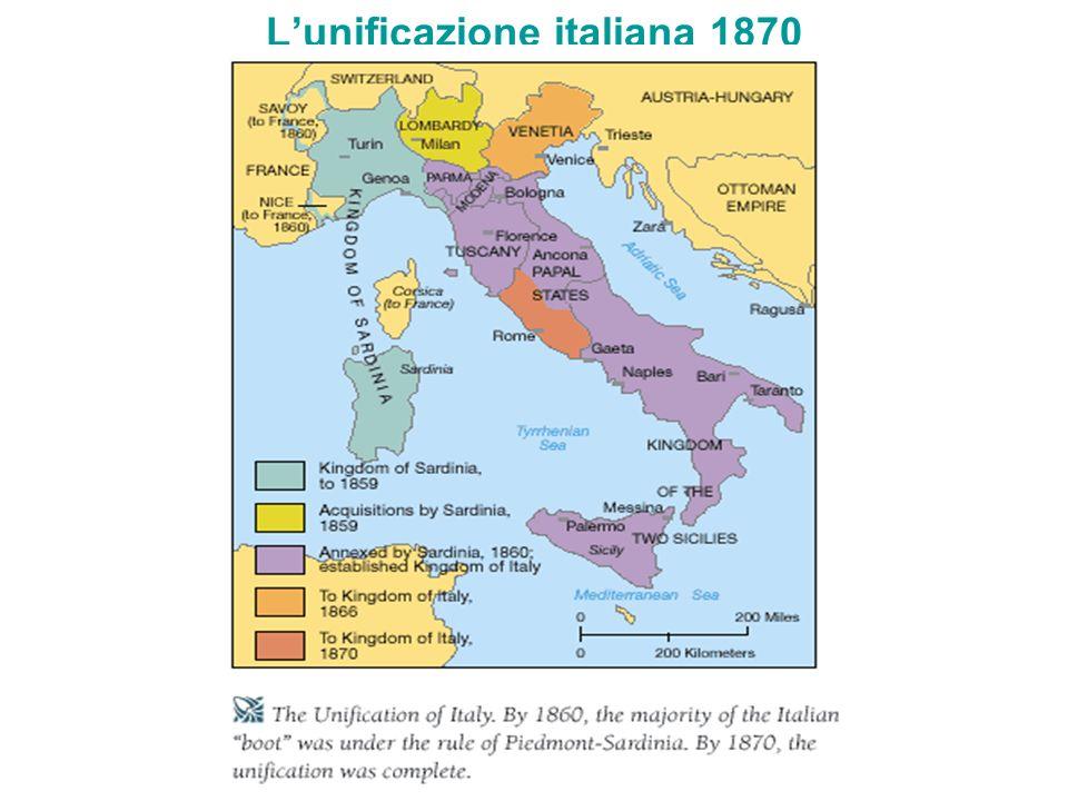 Lunificazione italiana 1870