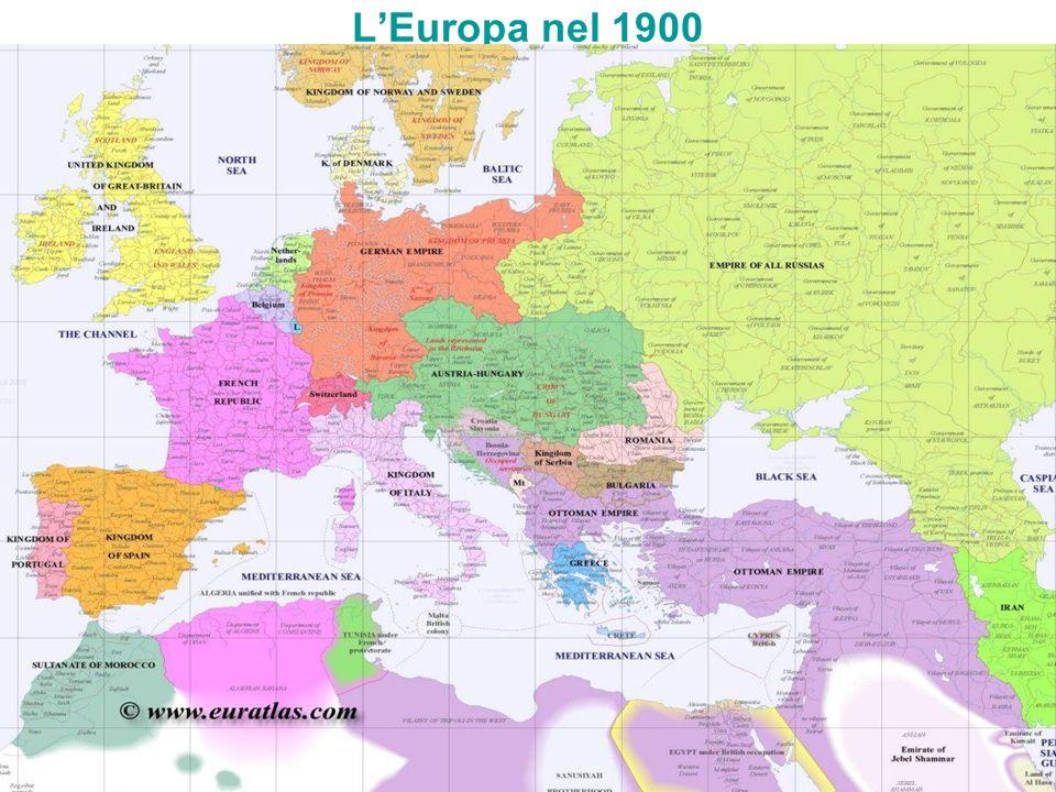 LEuropa nel 1900