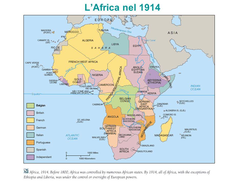 LAfrica nel 1914