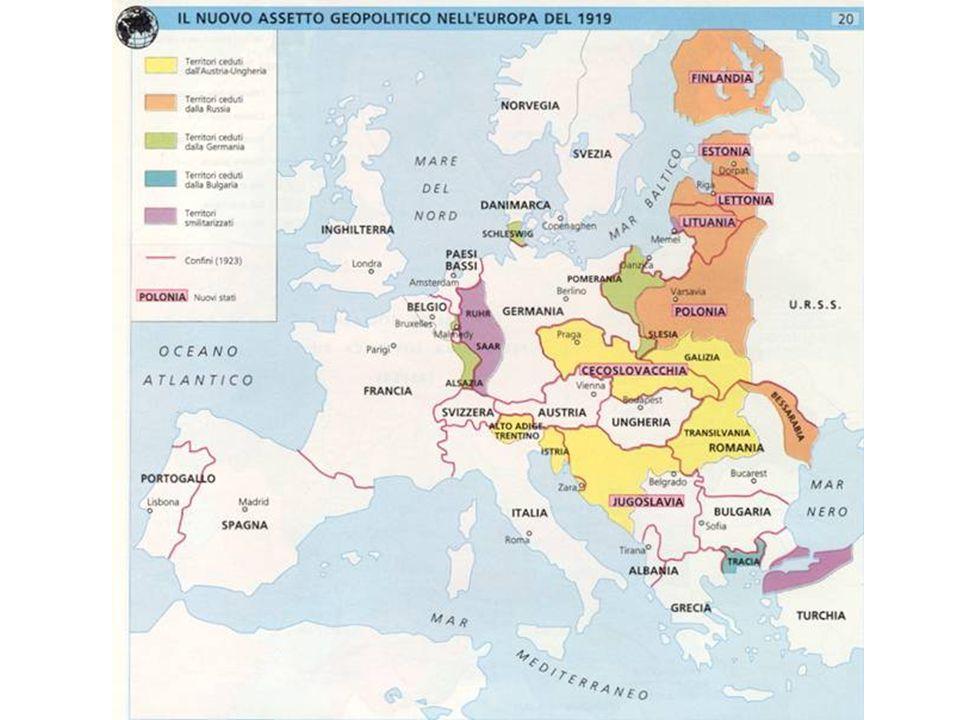 LEuropa nel 1919 I