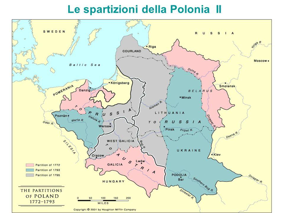 Lespansione della Prussia nel Settecento