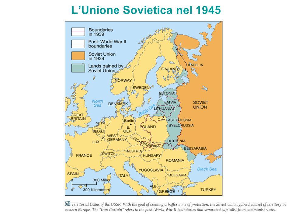 LUnione Sovietica nel 1945