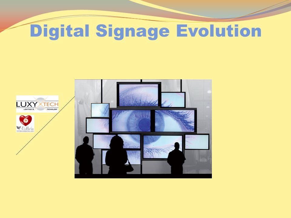 Digital Signage Evolution