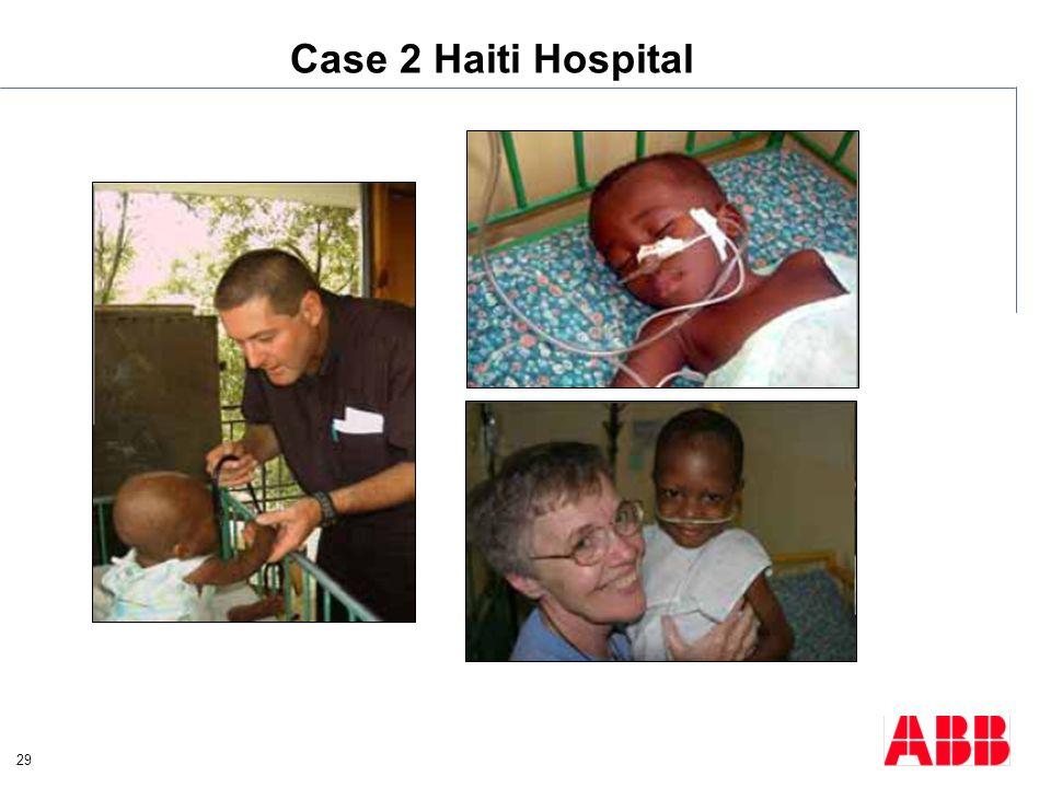 29 Case 2 Haiti Hospital