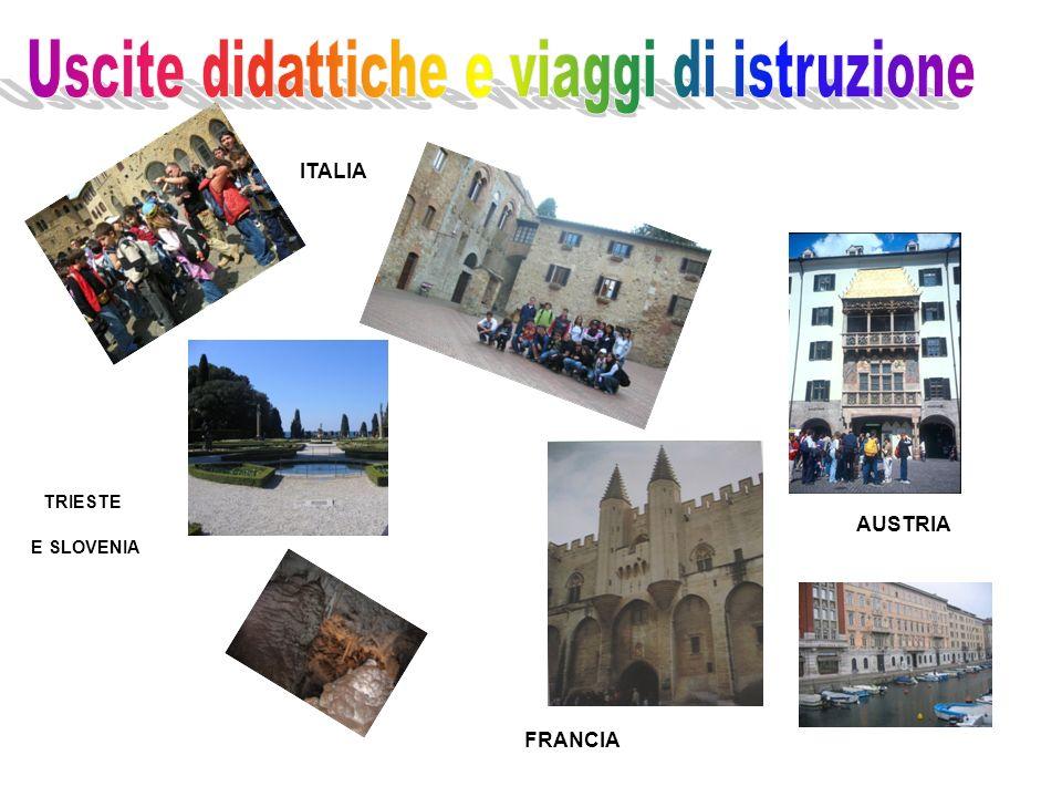 TRIESTE E SLOVENIA AUSTRIA ITALIA FRANCIA