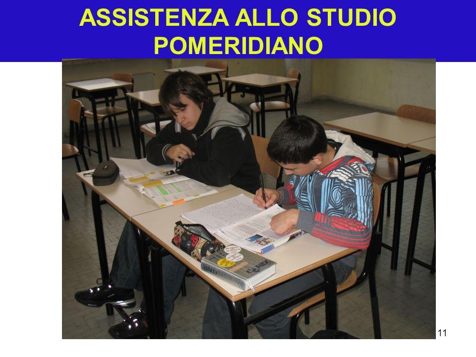 ASSISTENZA ALLO STUDIO POMERIDIANO 11