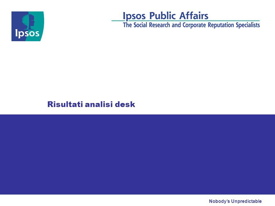 I cattolici italiani dopo le elezioni del 2009 © 2009 Ipsos 30 Il nucleare Base casi: 1000 per rilevazione