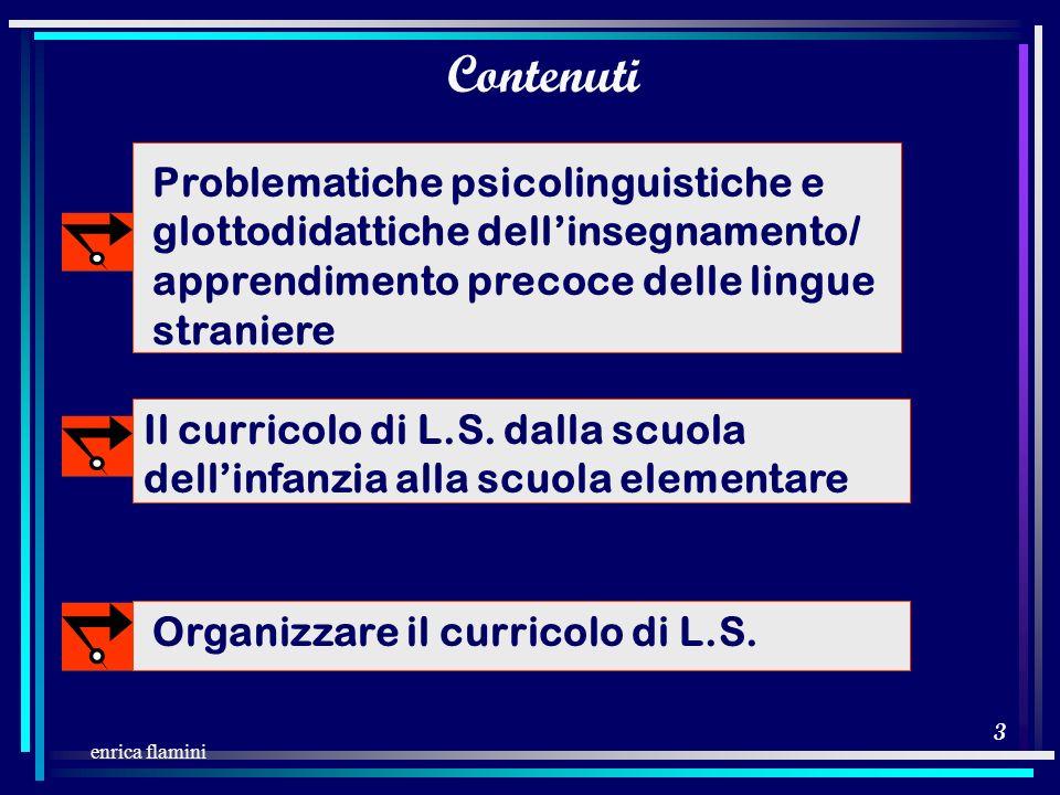 2 enrica flamini moduli a tema per gruppi moduli a tema per gruppi Struttura del seminario auto accesso alla documentazione auto accesso alla document