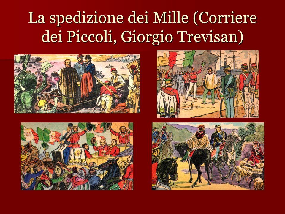 La spedizione dei Mille (Corriere dei Piccoli, Giorgio Trevisan)