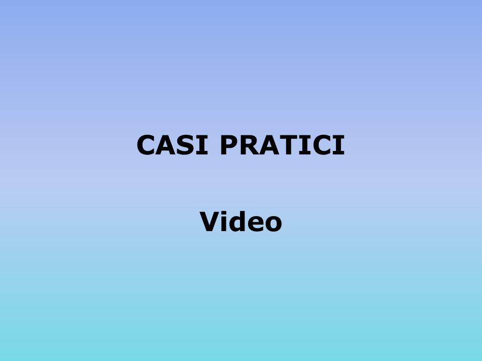 CASI PRATICI Video