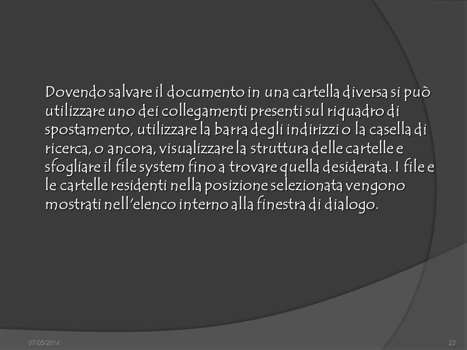 07/05/201423 finestra di dialogo Nuovo, nella quale si può scegliere sia il documento vuoto, sia un altro documento tipo, da scegliere tra i modelli f