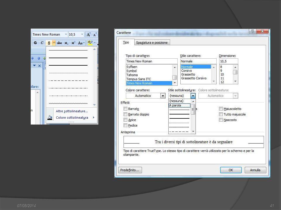 07/05/201441 finestra di dialogo Nuovo, nella quale si può scegliere sia il documento vuoto, sia un altro documento tipo, da scegliere tra i modelli f