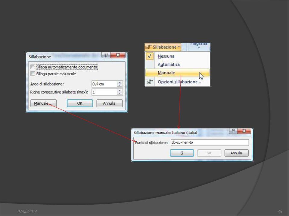 07/05/201445 finestra di dialogo Nuovo, nella quale si può scegliere sia il documento vuoto, sia un altro documento tipo, da scegliere tra i modelli f