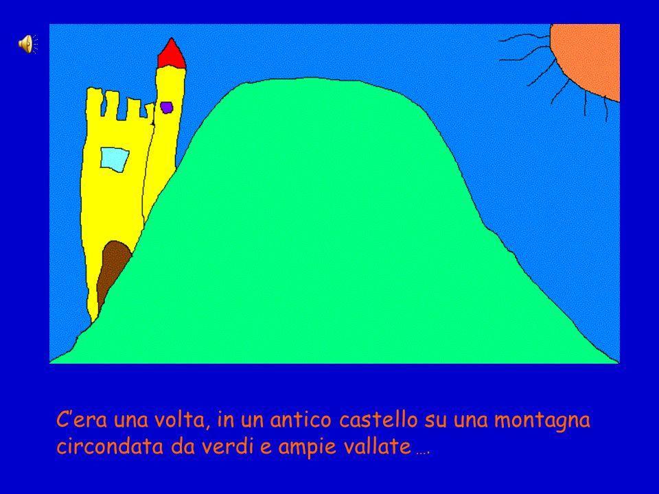 Cera una volta, in un antico castello su una montagna circondata da verdi e ampie vallate ….