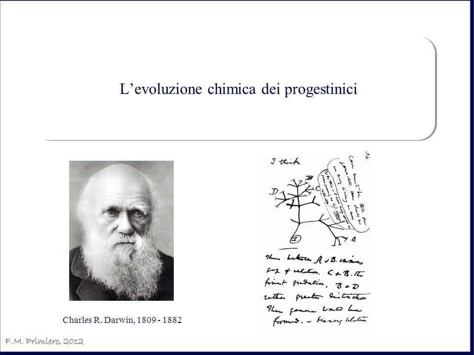 Levoluzione chimica dei progestinici F.M. Primiero, 2012 Charles R. Darwin, 1809 - 1882